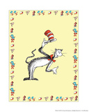 The Cat in the Hat: The Cat (on yellow) Prints by Theodor (Dr. Seuss) Geisel