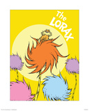 The Lorax (on yellow) Posters by Theodor (Dr. Seuss) Geisel