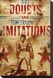 Erfolgversprechende Einstellung, Englisch Leinwand von Rodney White