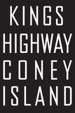 Kings Highway Plaque en métal