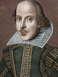 William Shakespeare (Stratford-On-Avon, 1564-1616). English Writer Photographic Print by Prisma Archivo 
