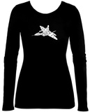 Juniors: Long Sleeve - Need for Speed - Fighter Jet T-Shirt