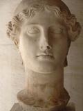 Head of Nike (Ii Century Ad), Agora Museum, Athens, Greece Fotografisk tryk af  Prisma Archivo