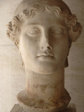 Head of Nike (Ii Century Ad), Agora Museum, Athens, Greece Photographic Print by Prisma Archivo