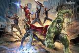Avengers-Strike Plakaty