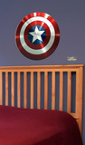 Captain America - Shield Wall Decal