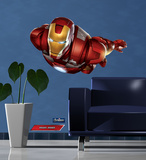 Iron Man - The Avengers Autocollant mural