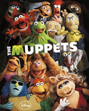 The Muppets-Teaser Plakater