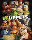 The Muppets-Teaser Plakater