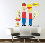 Beavis &amp; Butt-Head - Burger World Wall Decal