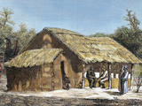 Dr. David Livingstone's (1813-1873) Hut Photographic Print by  Prisma Archivo