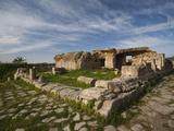 Ruins of Underground Roman-Era Villas, Bulla Regia, Tunisia, Photographic Print