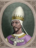 1015/1028-1085), Born Hildebrand of Sovana. Pope from April 22, 1073, Until His Death Photographic Print by  Prisma Archivo