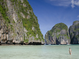 Maya Bay, Phi Phi Leh, Phuket, Andaman Sea, Thailand Photographic Print by Cindy Miller Hopkins