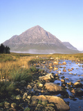 One of the Four Summits of Beauchaille Etive Mor, River Etive, Near Glencoe, Argyll, Scotland Photographic Print by Christopher Bettencourt