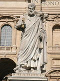 The Apostle Saint Peter Holding the Keys, Square of Sant Peter, City of the Vatican Photographic Print by  Prisma Archivo