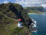 Makapuu Lighthouse, Oahu, Hawaii Photographic Print by Douglas Peebles