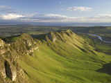 Te Mata Peak, Hawkes Bay, North Island, New Zealand Photographic Print by David Wall