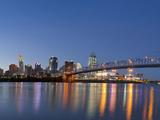 The Skyline of Cincinnati, Ohio, Usa Fotografisk trykk av Chuck Haney