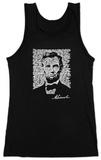 Juniors: Tank Top - Lincoln - Gettysburg Address T-shirts