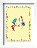 The Cat in the Hat: Thing One (on yellow) Prints by Theodor (Dr. Seuss) Geisel