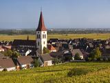 Ammerschwihr, Alsatian Wine Route, Alsace Region, Haut-Rhin, France Photographic Print by Walter Bibikow