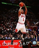 Derrick Rose 2011-12 Action Photo
