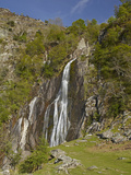 Aber Falls, Near Bangor, Wales Photographic Print by David Wall