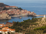Collioure, Vermillion Coast Area, Pyrennes-Orientales Department, Languedoc-Roussillon, France Photographic Print by Walter Bibikow