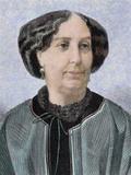 George Sand, Pseudonym of Aurore Dupin (Paris, 1804-Nohant, 1876). French Novelist Photographic Print by  Prisma Archivo