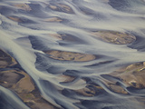 Aerial of Holsa River Delta Fingers, Reykjavik, Iceland Photographic Print by Josh Anon