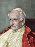Leo Xiii (1810-1903). Italian Pope (1878-1903), Named Vincenzo Gioacchino Pecci Photographic Print by  Prisma Archivo