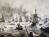 Greek War of Independance (1821-1830), in the Peloponnese, Greece Photographic Print by  Prisma Archivo