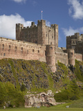 Bamburgh Castle, Bamburgh, Northumberland, England Photographic Print by David Wall