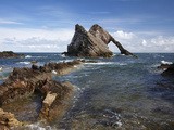 Bow Fiddle Rock, Portknockie, Moray, Scotland Photographic Print by David Wall