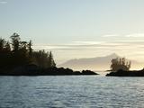 Sunset, Southeast Near Ketchikan, Alaska, Usa Photographic Print by Savanah Stewart