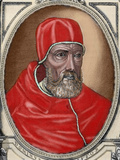 Paul Iv (Capriglia, 1476-Rome, 1559). Italian Pope (1555-1559) Photographic Print by  Prisma Archivo