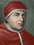 Florentine Pope (1513-1521), Named Giovanni De Medici. Son of Lorenzo De Medici, the Magnificent Photographic Print by  Prisma Archivo