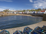 Harbour, Findochty, Moray, Scotland Photographic Print by David Wall