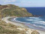 Sandfly Bay, Otago Peninsula, Dunedin, Otago, South Island, New Zealand Photographic Print by David Wall