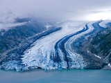 Lamplugh Glacier, Glacier Bay National Park, Alaska, Pacific Northwest, Usa Photographic Print by Jerry Ginsberg