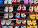 Wooden Dutch Shoes for Sale for Souvenirs in Town of Edam, Netherlands Photographic Print by Bill Bachmann
