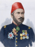 Muhammad Ali Pasha (B. 1829). General in Chief of the Turkish Army in Bulgaria in Photographic Print by  Prisma Archivo