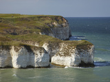Chalk Cliffs by North Landing, Flamborough Head, Yorkshire, England Photographic Print by David Wall