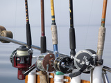Fishing Poles, Alaska, Usa Photographic Print by Savanah Stewart