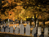 Laurel Hill Cemetery, Reading, Massachusetts, New England, Usa Photographic Print by Jim Engelbrecht