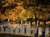 Laurel Hill Cemetery, Reading, Massachusetts, New England, Usa Photographic Print by Jim Engelbrecht