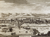 Cordoba, Xviii Century, Overview of the City, Sierra Morena in Delights of Spain and Portugal Photographic Print by Prisma Archivo