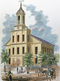 St. Charles' Church. Boston, Massachusetts, Usa Photographic Print by  Prisma Archivo