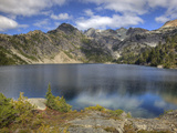 Spade Lake, Alpine Lakes Wilderness, Washington, Usa Photographic Print by Jamie & Judy Wild